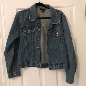 Boston Proper denim jacket